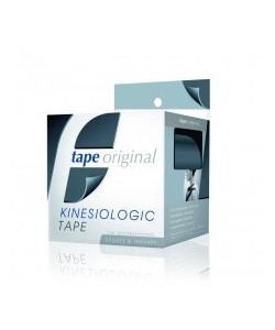 PACK 6 ROLLOS NEGRO TAPE ORIGINAL KINESIOLOGIC