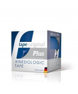 TAPE ORIGINAL KINESIOLOGIC PLUS AZUL MARINO 5ms.x5cms.