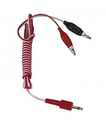 Cable Pinza Cocodrilo