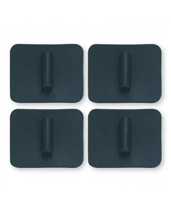 Silicona - Cuadrado 38 X 45mm. (4ud.)