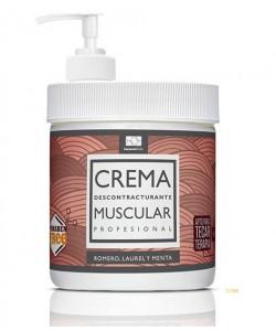 Crema Muscular 500ml (sin parafina)
