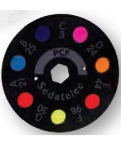 Disco PCF para ELD (programa color frecuencial)