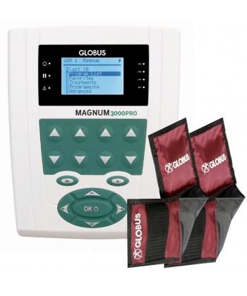 Magnetoterapia Magnum PRO 3000 con 70 programas y 2 canales