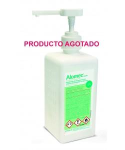 ALOMEC solución hidroalcohólico 500 ml con bomba