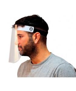Pantalla facial fija protectora: Especialmente diseñada para proporcionar una barrera de protección en el área facial
