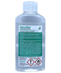 ALCO ALOE SOLUCIÓN 100 ml. Desinfectante de manos