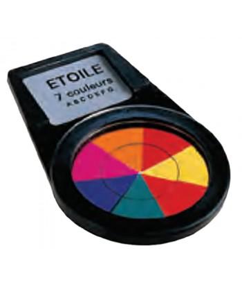 Filtro 7 colores (estrella): 21 / 25 / 3 / 24 / 44 / 98 / 30
