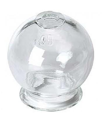 Ventosa De Cristal Individual D: 4.5cm.