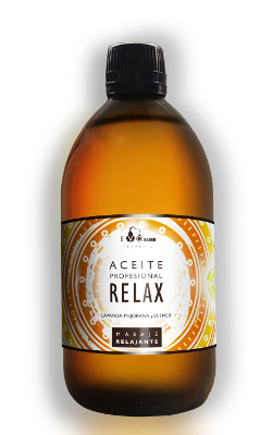 Aceite Relax 125ml (sin parafina)