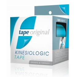 1 PACK 6 ROLLOS AZUL TAPE ORIGINAL KINESIOLOGIC