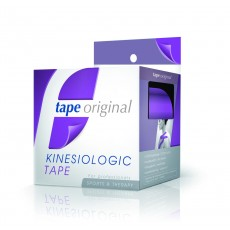 1 PACK 6 ROLLOS MORADO TAPE ORIGINAL KINESIOLOGIC
