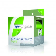 1 PACK 6 ROLLOS VERDE TAPE ORIGINAL KINESIOLOGIC