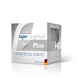 1 PACK 6 ROLLOS PLATEADO TAPE PLUS KINESIOLOGIC